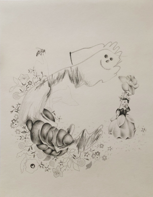 Holly Trout Drawing Pencil