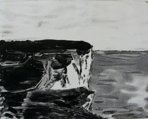 Iris Osterman South Downs Way Prints Monotype