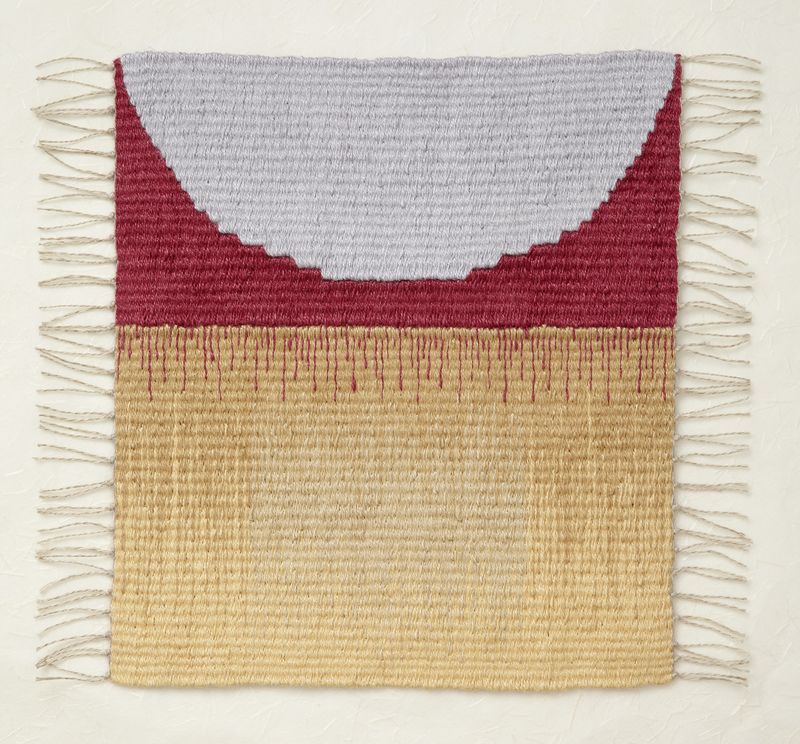 JEWISH ARTISTS COLLECTIVE CHICAGO Berit Engen Linen-yarn tapestry