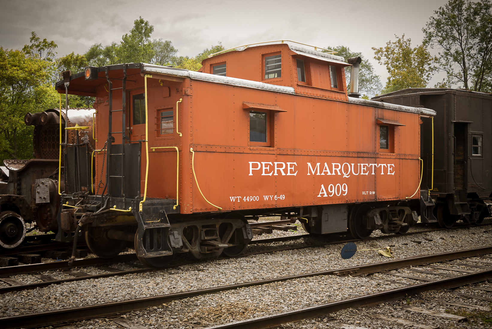 Iron, Steel, and Steam Pere Marquett A909