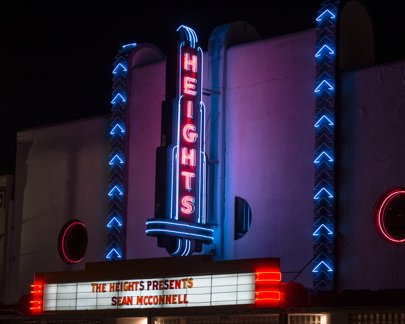 Houston Neon Heights Theatre No. 2 - Houston, Texas