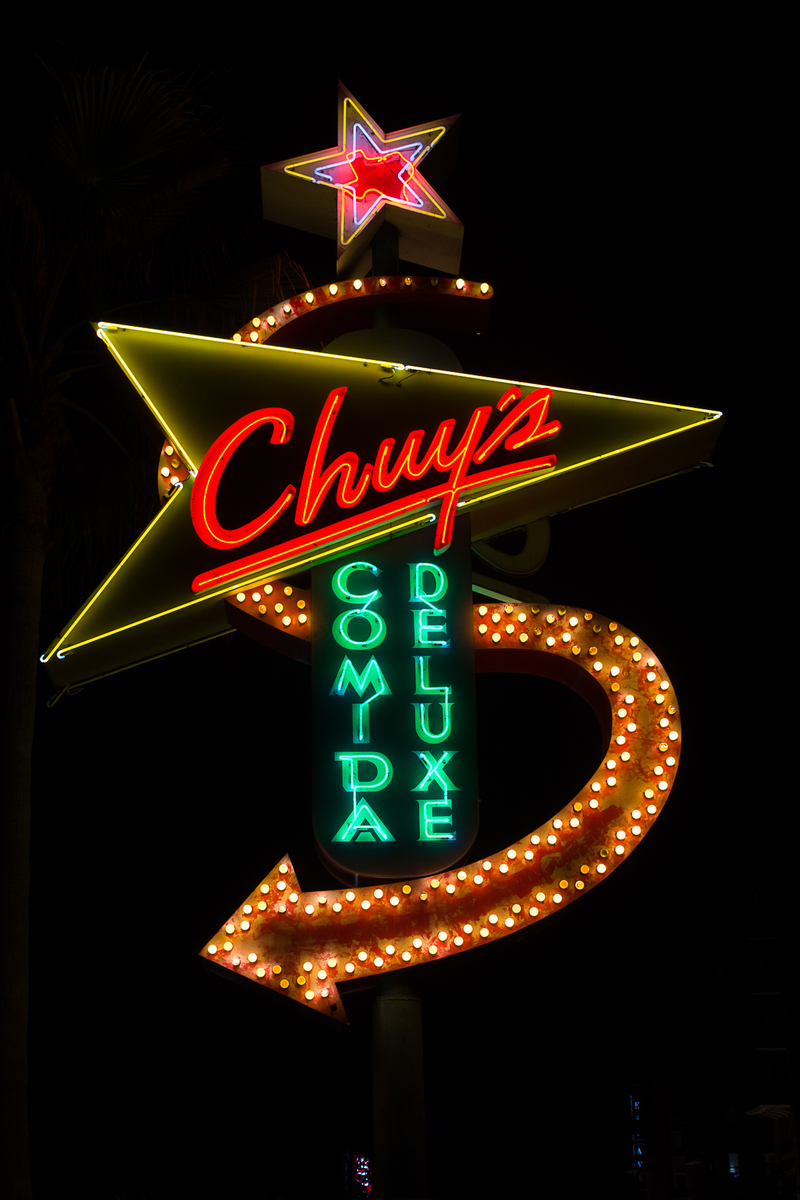 "Houston Neon Chuy's (""Chewy's"") - Houston, Texas"