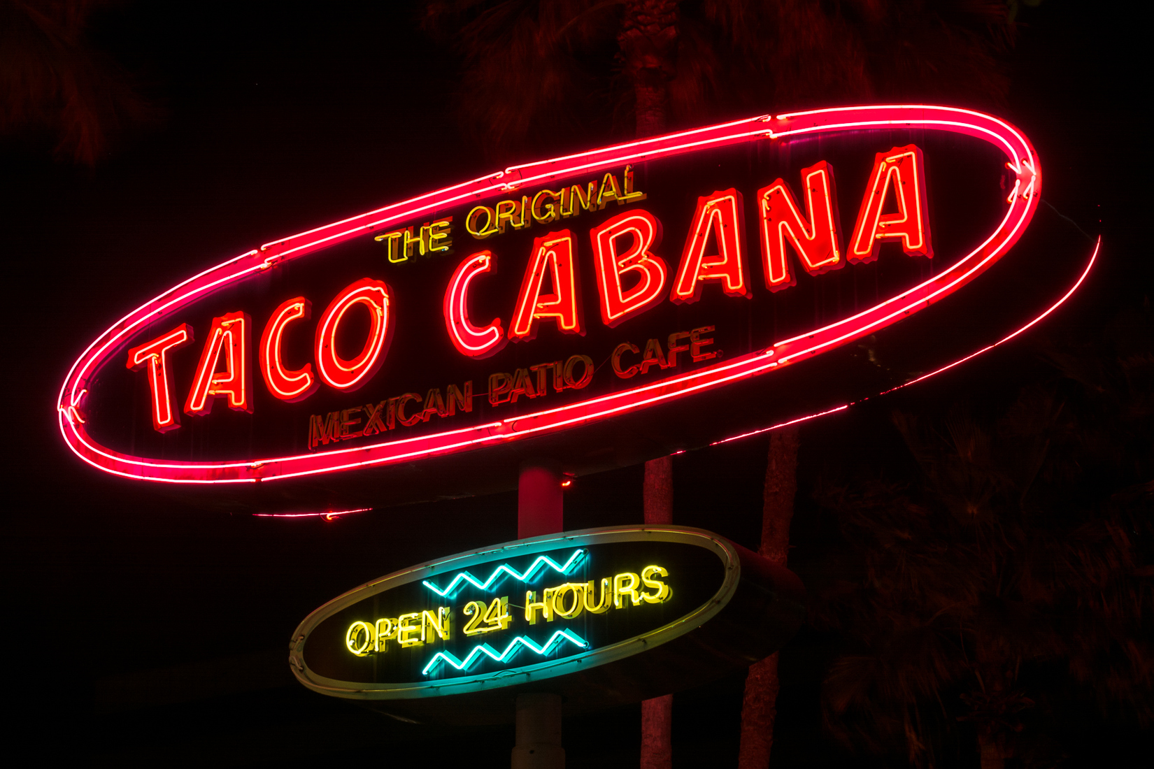 Houston Neon Taco Cabana - Houston, Texas