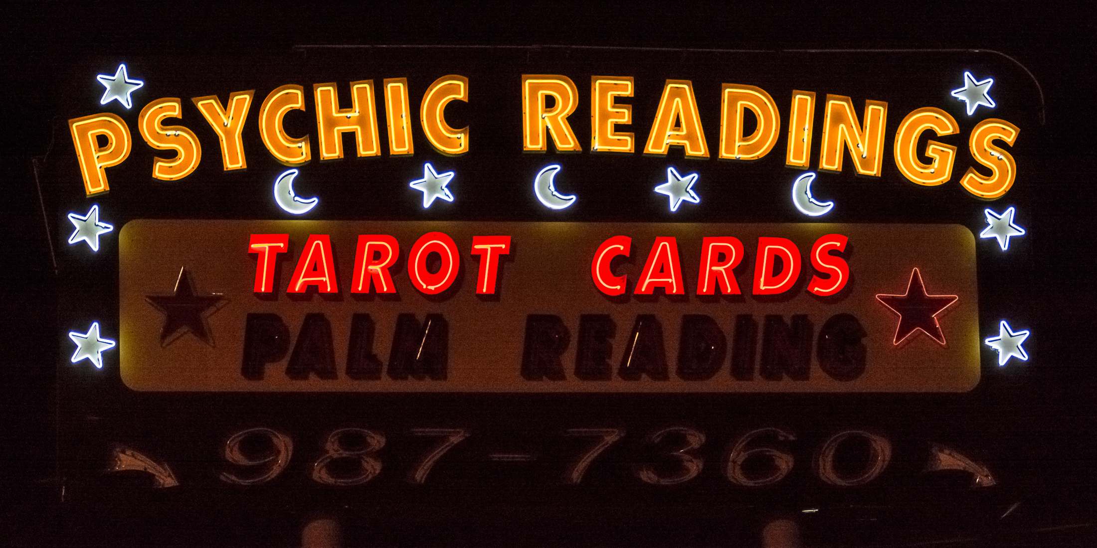 Houston Neon Psychic Readings - Houston, Texas