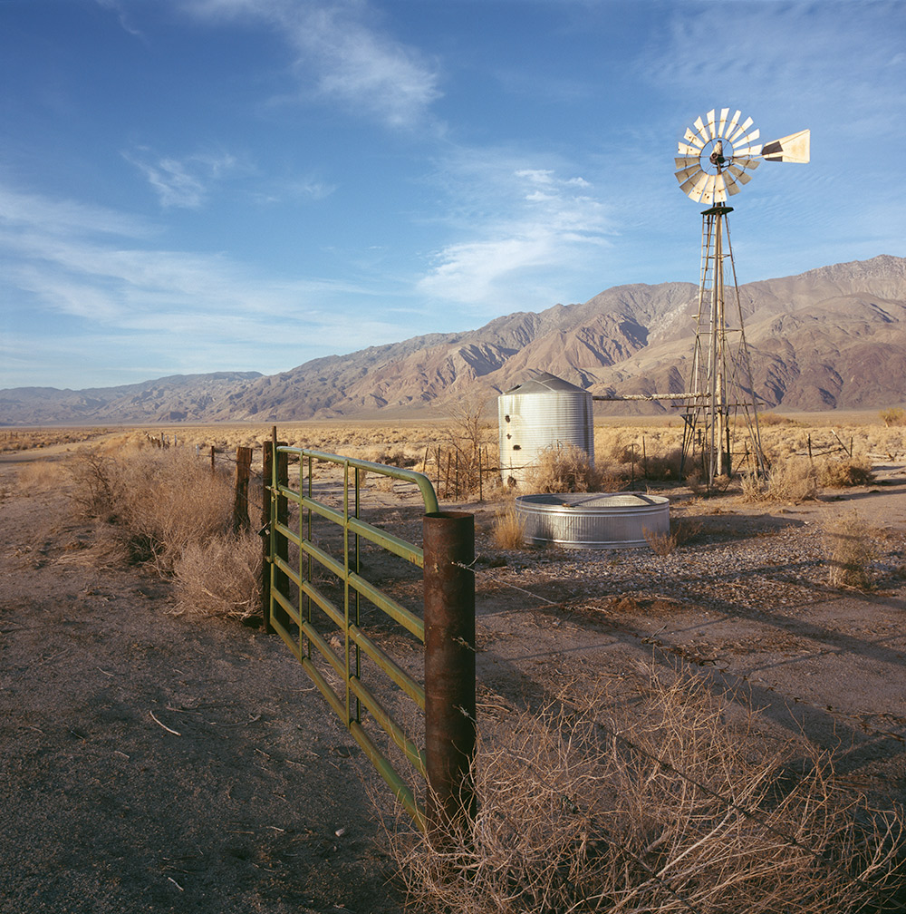 Mechanical Landscape Aermotor in Owens Valley