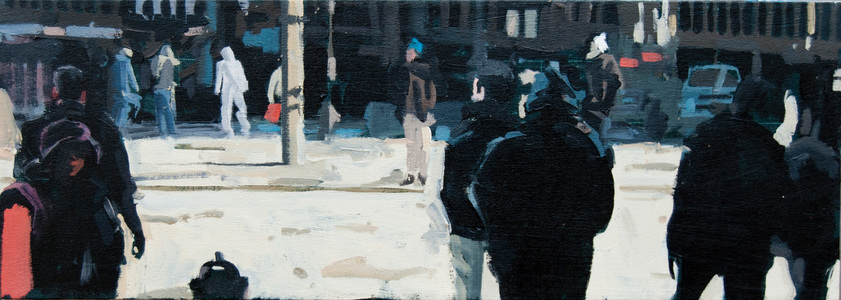"John Bonner Urban Landscapes 28"" x 10"""