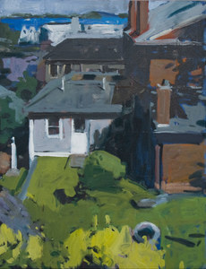 John Bonner Suburban Landscapes Oil on canvas