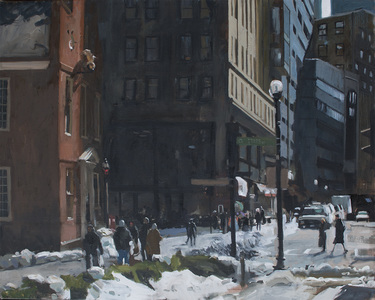 "John Bonner Urban Landscapes 48"" x 38"""