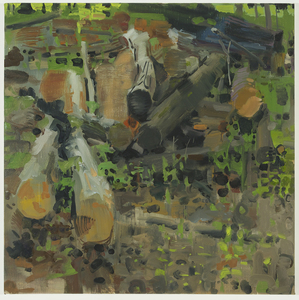JULIAN KREIMER archive oil on linen
