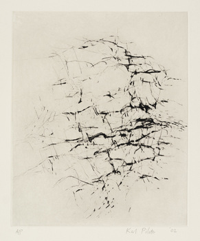 Karl Pilato Etchings and Drypoints drypoint