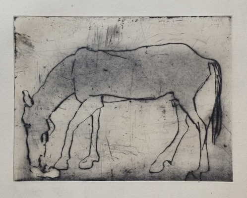 Kate Hanlon Drawings Drypoint print