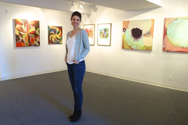 From Where I Stand: 12 Contemporary Abstract Artists Curator: Katharine Dufault