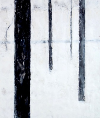 Katharine Dufault Encaustic  encaustic on birch panel