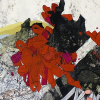 painting Acrylic and sumi ink on paper