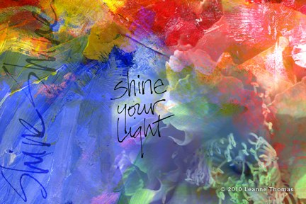 cards & prints shine your light