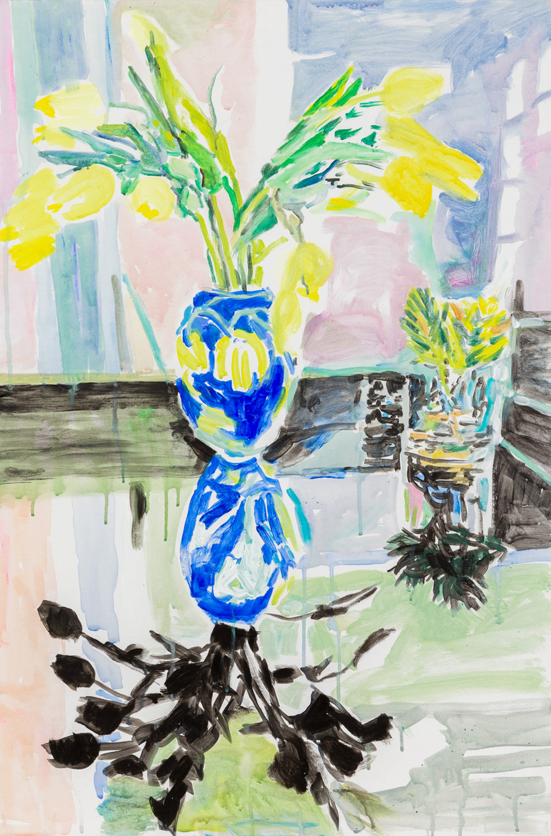 Paintings Yellow Tulips