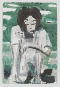 maia cruz palileo Works on Paper Ink and gouache on paper