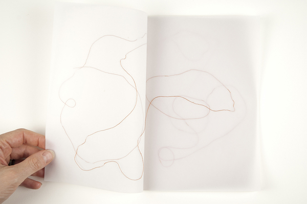 Works on Paper & Artist Books Thread and vellum