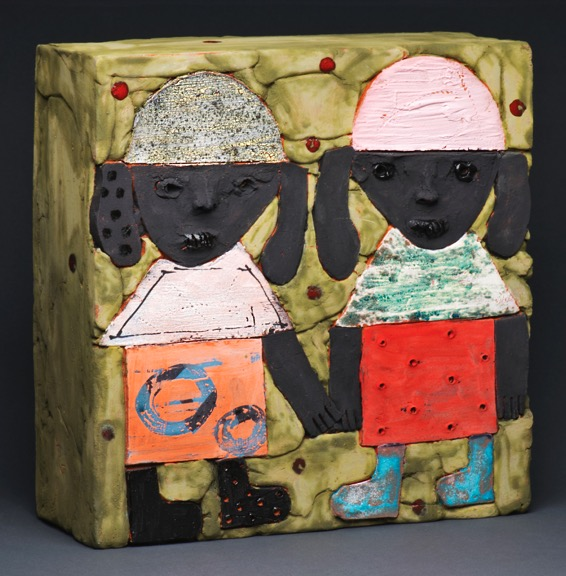 Marilyn Richeda Narrative Ceramic