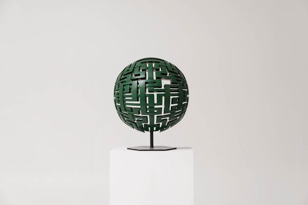 MARK OLLINGER Greensphere Acrylic on fabricated wood