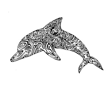 Michael Guy Tomassoni Chesapeake Bay Animal Series Pen and Ink