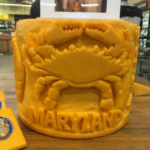 Michael Guy Tomassoni Cheese Sculpture