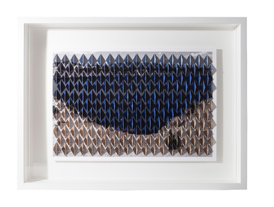 Millee Tibbs Mountains + Valleys / Kirigami double sided, folded and stacked archival digital prints