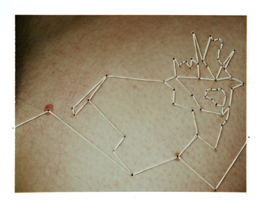 Millee Tibbs Constellations Instant Positive Film and Thread