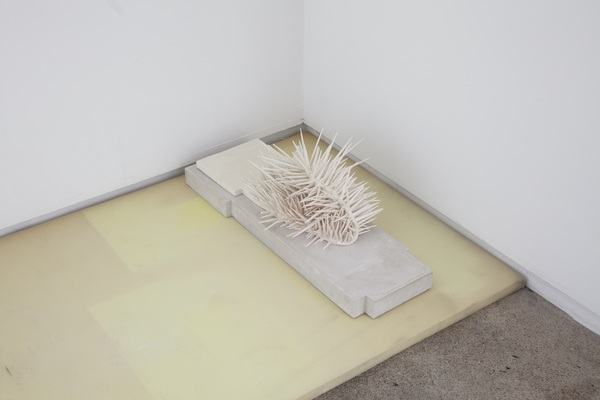 Priscilla Fusco Works Porcelain, concrete, foam