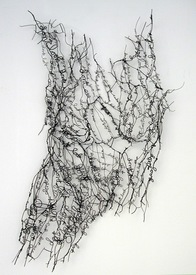 N a o m i  G r o s s m a n Sculptures wire words