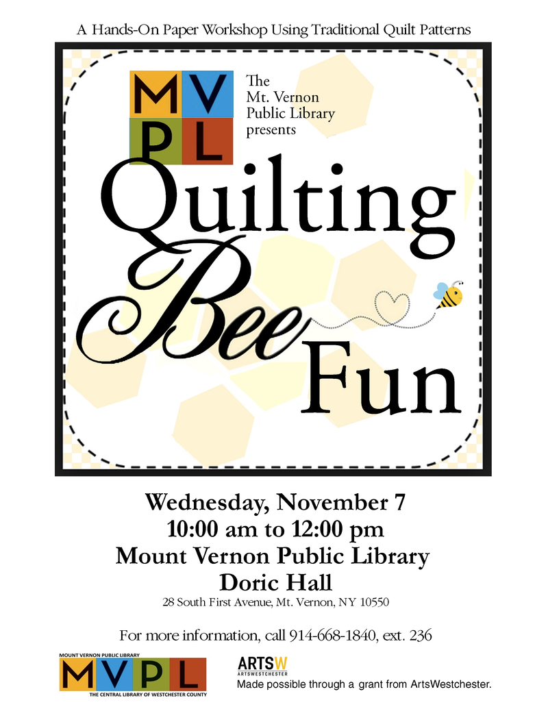 Pamela Tucker Quilting Bee Collaborative Art Event