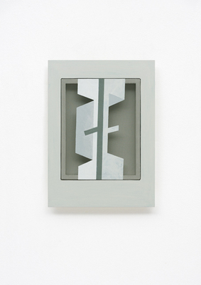 PIERRE LOUAVER TOPOI PAINTINGS acrylic paint on polyester & oil paint on plexiglass