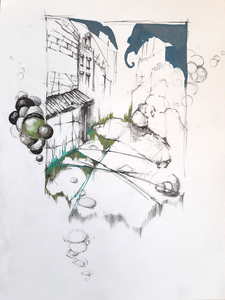 RENÉE REY, ARTIST Drawings   Ink, graphite on paper
