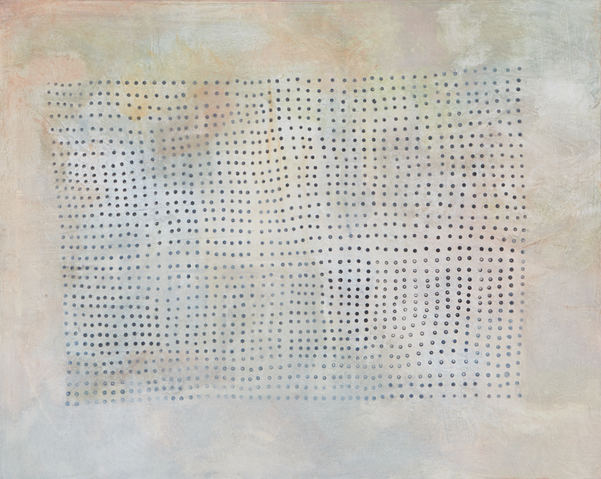 ROBERTA PYX SUTHERLAND Out of Stillness Ink and acrylic on handmade paper on canvas