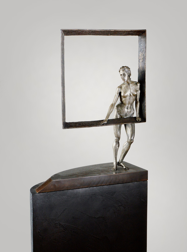 DAVID ROBINSON Peripheral Visions Bronze, steel