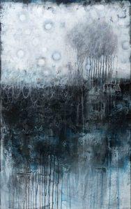 RUTH SHARTON Visceral Acrylic and Mixed Media on Canvas