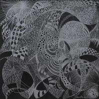 RUTH SHARTON Particles Colored Pencil on Board