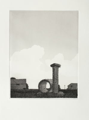 Scott Espeseth Prints Intaglio with Relief