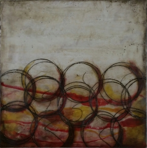 Sharon Blomquist The Art Gallery Encaustic w/mixed media