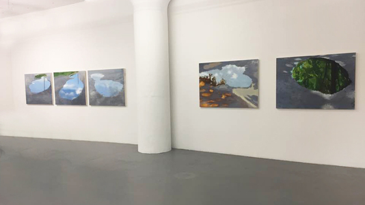 Shona Macdonald Sky on Ground Installation View