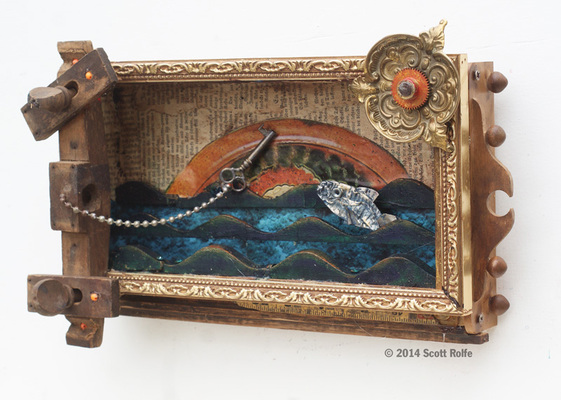 Rusty Crocodiles - The Assemblage Art of Scott Rolfe Past Assemblage Works Assemblage