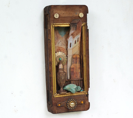 Rusty Crocodiles - The Assemblage Art of Scott Rolfe 2018 Works Assemblage