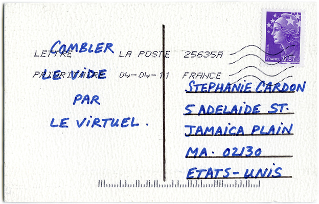 Distal Zone (postcard verso)