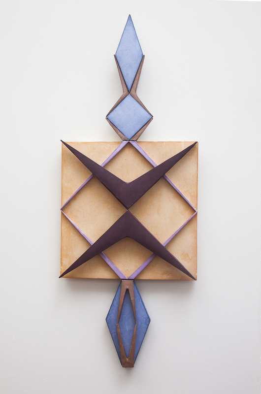 Tayo Heuser Geometric Paper Constructions Handmade abaca paper