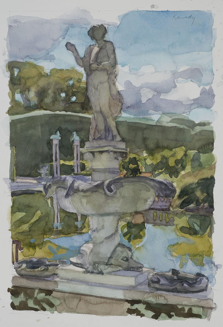 Watercolors Sprite / Neptune Fountain