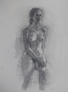 Figure Drawings graphite