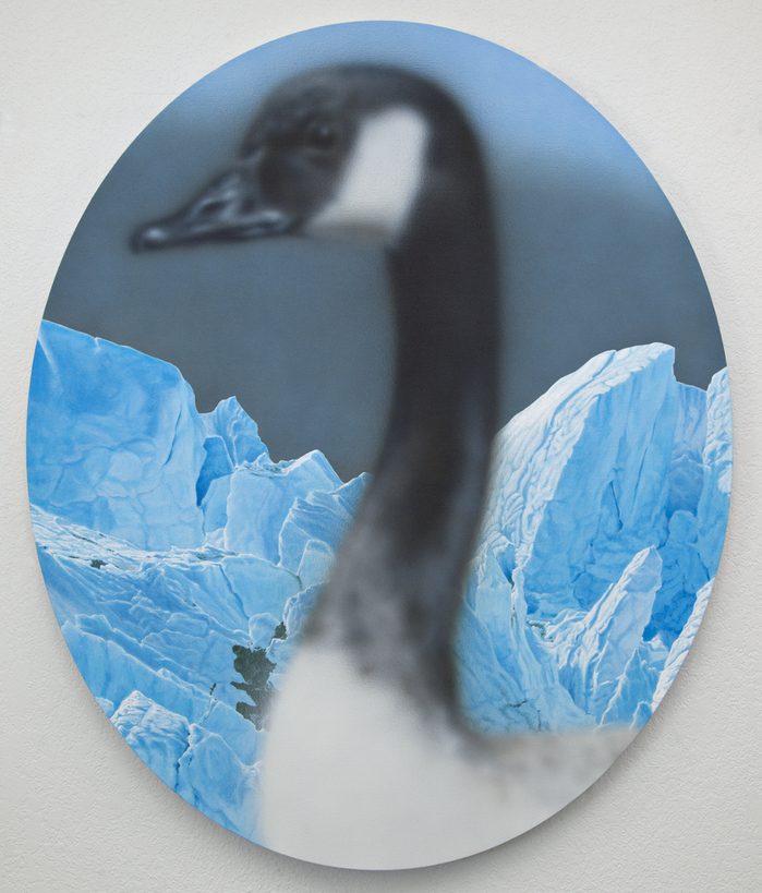 Work Goose with Glaciers, 2013