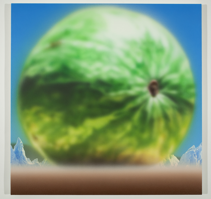 Todd Hebert  Watermelon with Glaciers<br/>