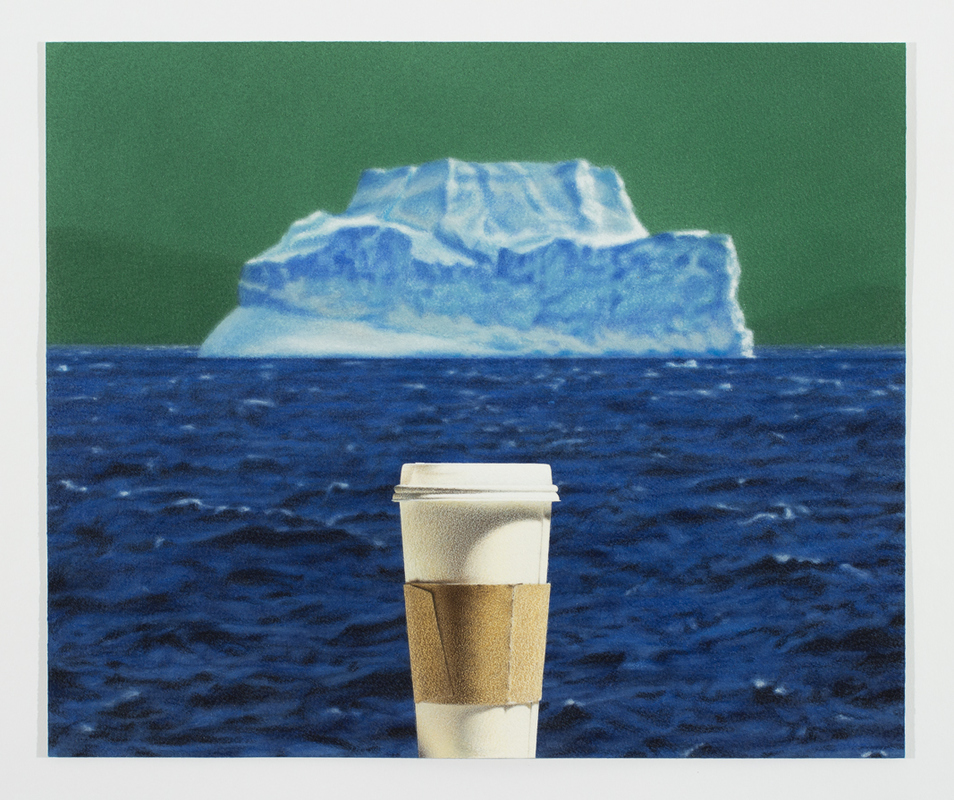 Todd Hebert  Cup with Iceberg<br/>