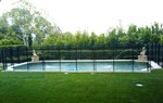 Safeguard Mesh and Glass Pool Fence in Los Angeles, CA, photo #4